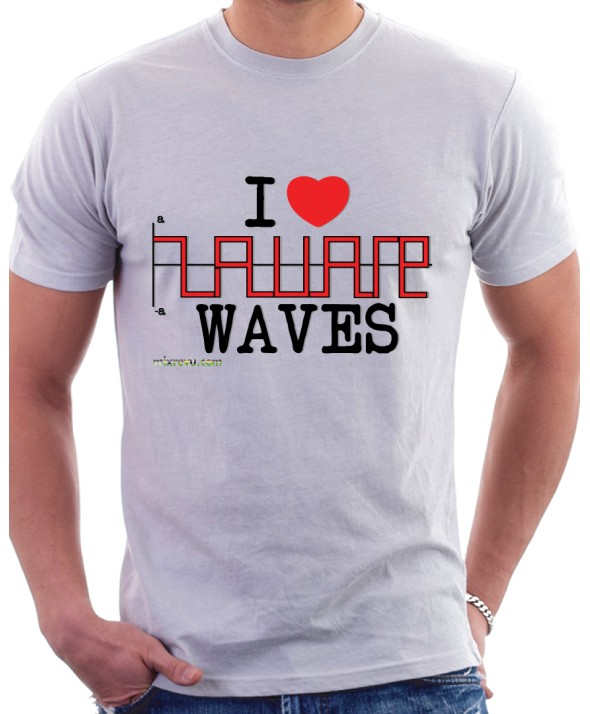 I LOVE Square Waves Tee